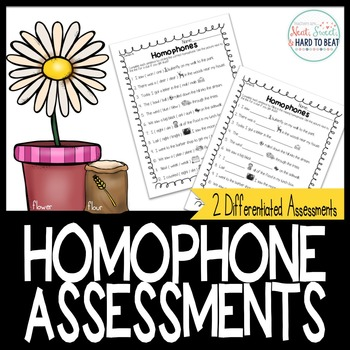 Homophone Assessments