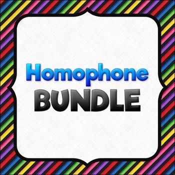 Homophones BUNDLE