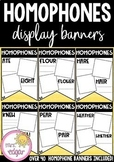 Homophone Banners | Student Display