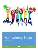 Homophone Bingo