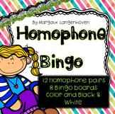 Homophone Bingo (in groups)