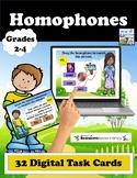 Homophone Boom Cards - Digital Task Cards