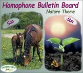 Homophone Bulletin Board