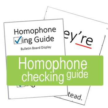 Homophone Checking Guide