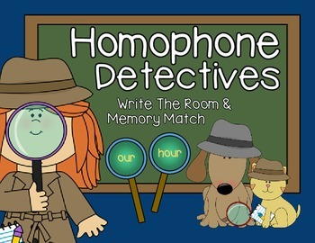 Homophone Detectives
