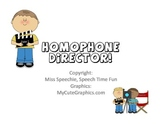 Homophone Director FREEBIE
