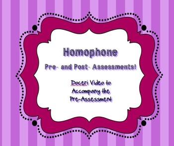 Homophone Doceri Video 5th Grade Common Core Standards