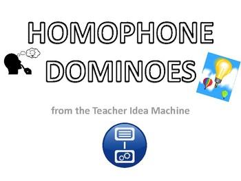 Homophone Dominoes