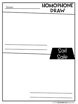 Homophone Draw
