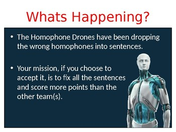 Homophone Drop Zone Full Game