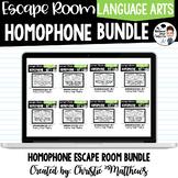Homophone Escape Room Bundle