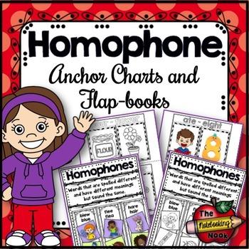 Homophone Flap-Books