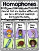 Homophone Flap-Books
