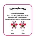 Homophone Freebee