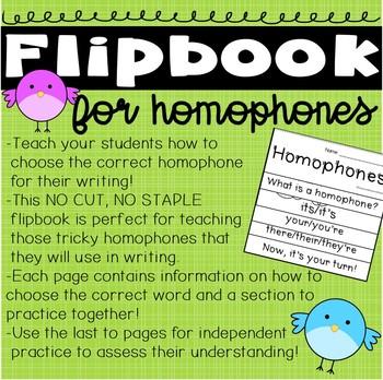 Homophone Resource Bundle