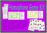 Homophone Games Kit