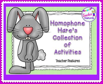 Homophones Activities & Games
