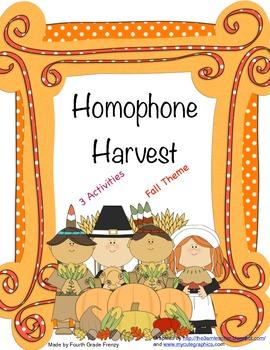 Homophone Harvest