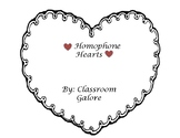 Homophone Hearts - Valentine's Day