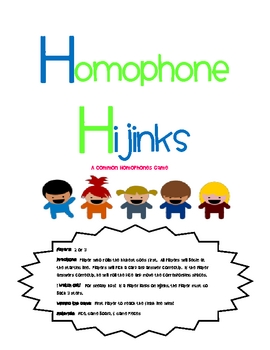 Homophone Hijinks!
