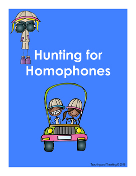 Homophone Hunt