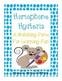 Homophone Activity