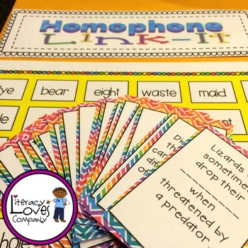 Homophone Link-It ELA Center