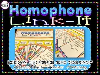 Homophone Link-It ELA Center