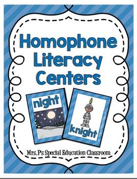 Homophone Literacy Centers