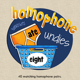 Homophone Match Up