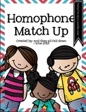 Homophone Match Up {CCS aligned}