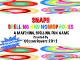 Homophone Matching Activity:Literacy Center Ideas