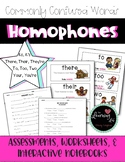 Homophone Posters, Assessments, Worksheets--It's, Its, Your, You're, There, Too