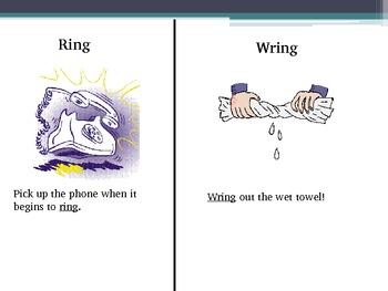 Homophone PowerPoint Presentation: Fourth Grade Spelling