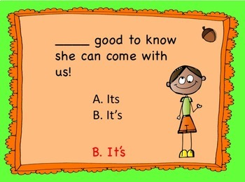Homophone PowerPoint Set Two: Don't Let Homophones Drive You Nutty