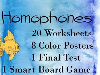 Homophone Practice Bundle
