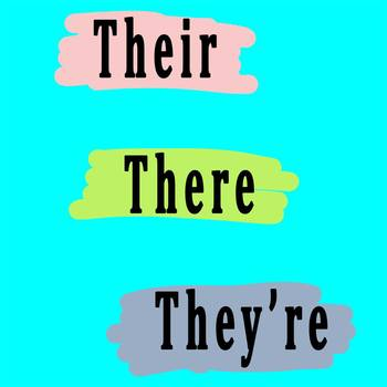 Homophone Practice: their, they're, and there