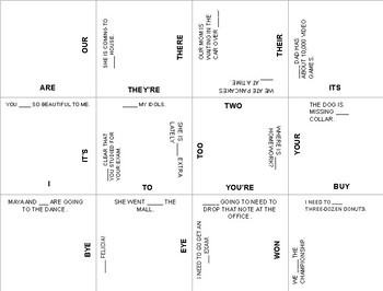 Homophone Puzzle