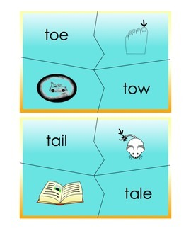 Homophone Puzzle