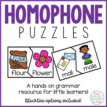 Homophone Puzzles!