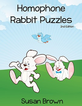 Homophone Rabbit Puzzles, 2nd Edition