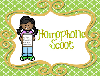 Homophone Scoot