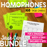 Homophone Task Card Bundle