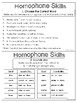 Homophone Task Card Set Sampler