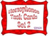 Homophone Task Cards 2