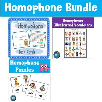 Homophone Learning Pack