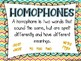 Homophones Task Cards (32) - Set 3 Common Core Aligned
