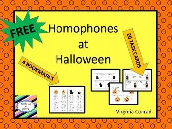 Homophones at Halloween