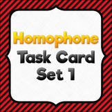 Homophone Task Cards - SET #1 (40 cards)