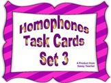 Homophone Task Cards Set 3